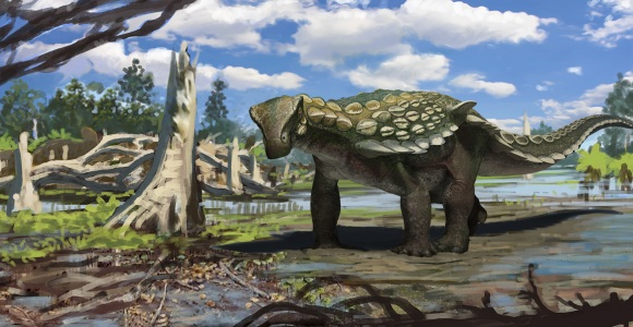 Tank-like Dinosaur Makes Us Rethink World Map