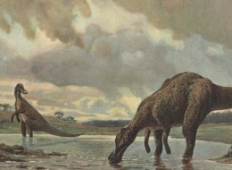 Plant-eating Giant Dinosaurs Survived in the Canadian Arctic